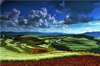 terre rouge dongchuan