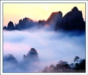 Mont. Huangshan 3 jours